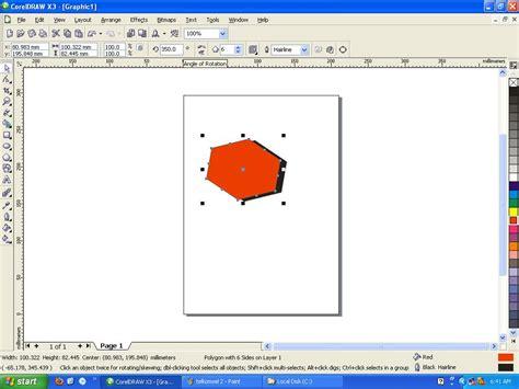 membuat gambar 3d menggunakan corel draw cara membuat logo telkomsel menggunakan corel draw m iqbal