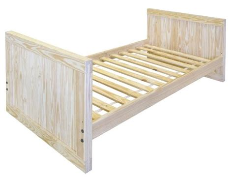 Size Bed Wood Headboard And Footboard by Captains Bed Size Headboard And
