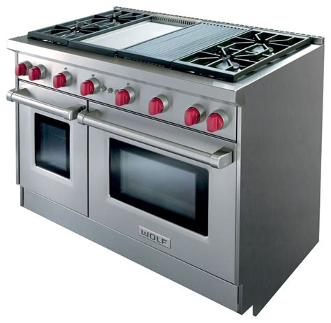 wolf electric range pictures to wolf all gas range gr484cg traditional gas ranges and electric ranges other metro by