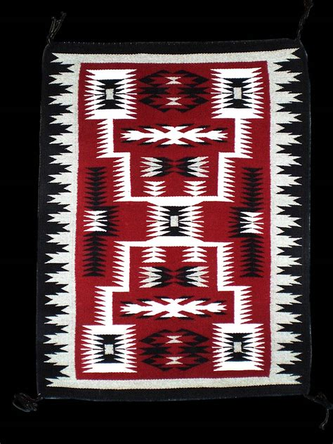 Navajo Rug Design by Navajo Rug Weaving By Begay Pattern