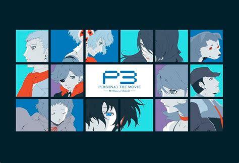 theme psp persona 3 persona 3 the movie 4 winter of rebirth second trailer