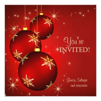 work christmas party invitations announcements zazzle
