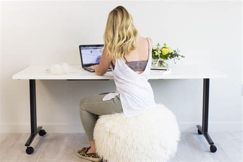 pb desk chair pb fur rockin roller desk chairs bloguettes