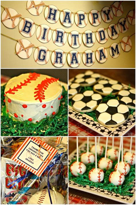 sports themed birthday decorations sports theme birthday click for lots of ideas