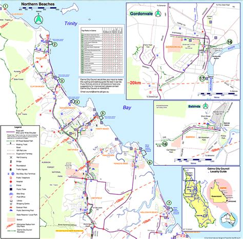 Yorkeys Knob Map by Maps All Cairns Tours