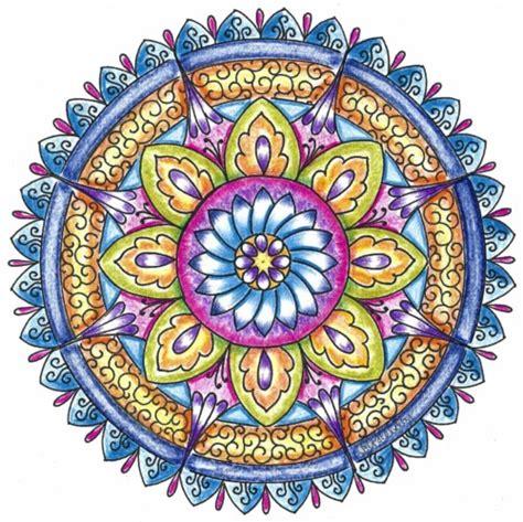mandala meaning of colors im 225 genes con mandalas de colores