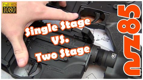 2 Türiger Kleiderschrank by Ar 15 Single Stage Vs Two Stage Triggers