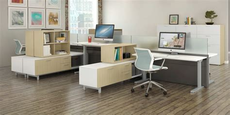 contemporary modern office furniture from strong project how to optimize your new adjustable height desk for