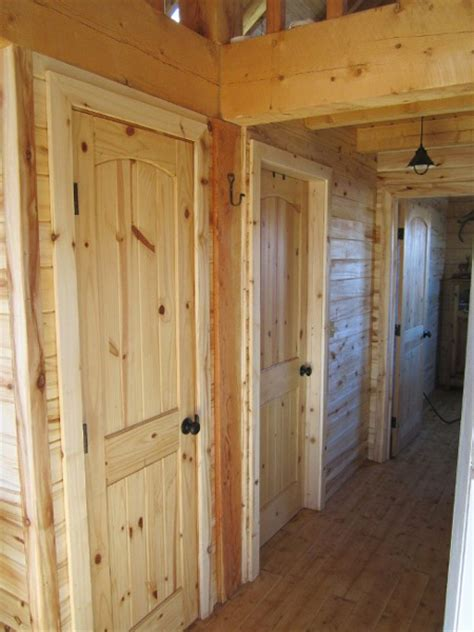 Log Cabin Interior Doors 1000 Images About Doors Windows On Cabins Rustic Bedrooms And World