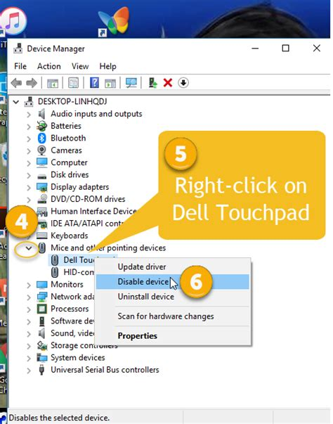 disable touchpad  dell laptop solved windows