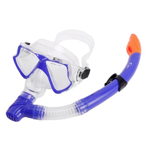 ebay adults section uk adults mask snorkel set ultra clear snorkelling swimming