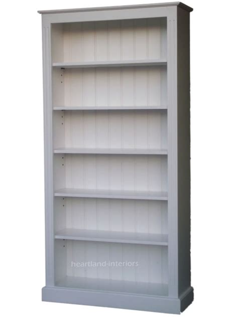 15 Ideas Of Painted Wood Bookcase How To Paint A Bookcase White