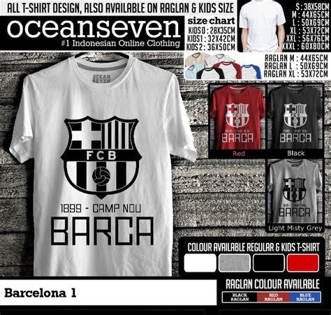 Kaos Barcelona Signature 2 Cr barcelona 1 kaos distro