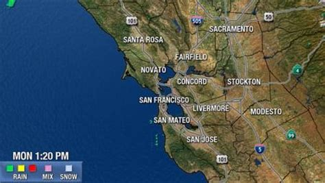 san francisco radar map san francisco california weather northern california