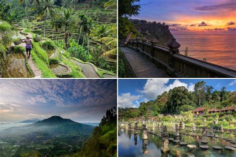 places  visit  bali  indonesian island