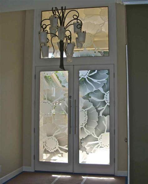 O Keefe Floral Pattern 3d Glass Door Inserts Sans Soucie Glass Door Insert