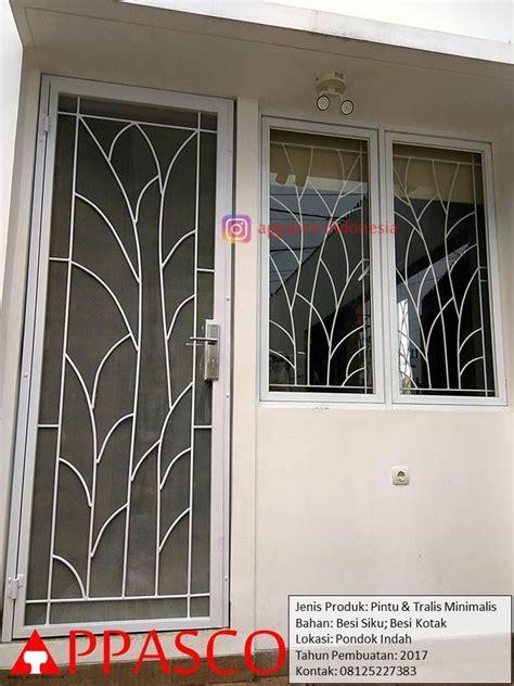 Pintu Besi dan Teralis Minimalis di Pondok Indah   Jual