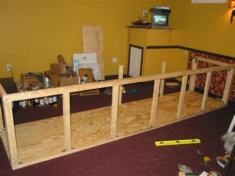 How To Build A Bar Build A Basement Bar Smalltowndjs