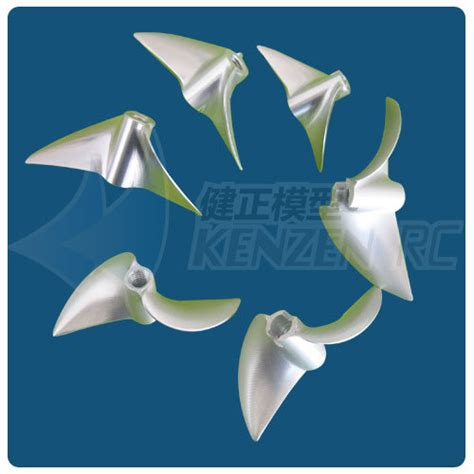 speed boat propeller 2 blade cnc aluminum propellers for rc boat speed boat