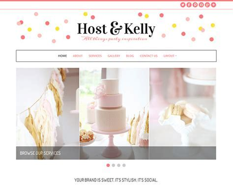 Kelly   Wedding Planner WordPress Theme   Themeshaker.com