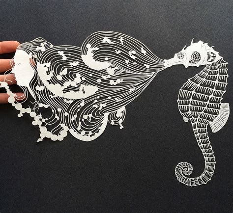 Paper Cutting Craft - 25 best ideas about cut paper on paper