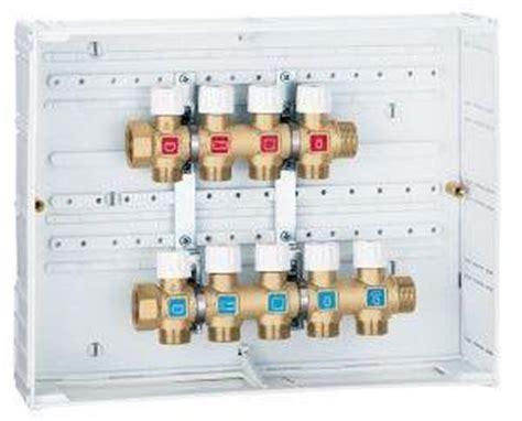 cassetta per collettori idraulici collettore idrico termosifoni in ghisa scheda tecnica