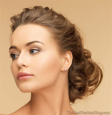 Updo Hairstyles For Hair by Prom Hairstyles Updos Medium Hair