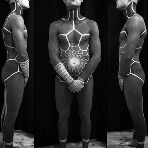 full body tattoo black 100 muster tattoos f 252 r m 228 nner symmetrical design ideen