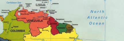 map of caribbean south america northern south america occidental dissent