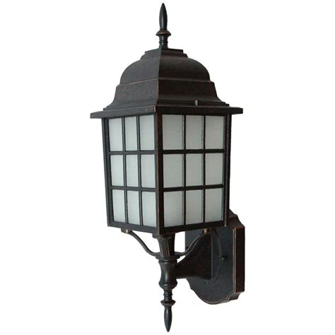 home depot outdoor decor y decor mandy 1 light oil rubbed bronze outdoor lantern