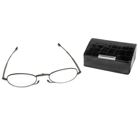 foster grant micro vision folding reading glasses w mini