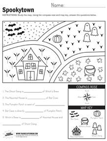 spookytown map worksheet paging supermom