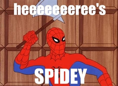 Spidey Memes - image 120821 60s spider man know your meme