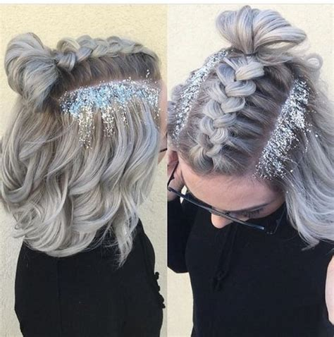 hairstyles for school concerts glitter hair trend review beautyholics101