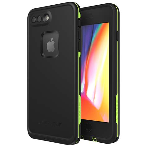 lifeproof fre for apple iphone 8 plus 7 plus black
