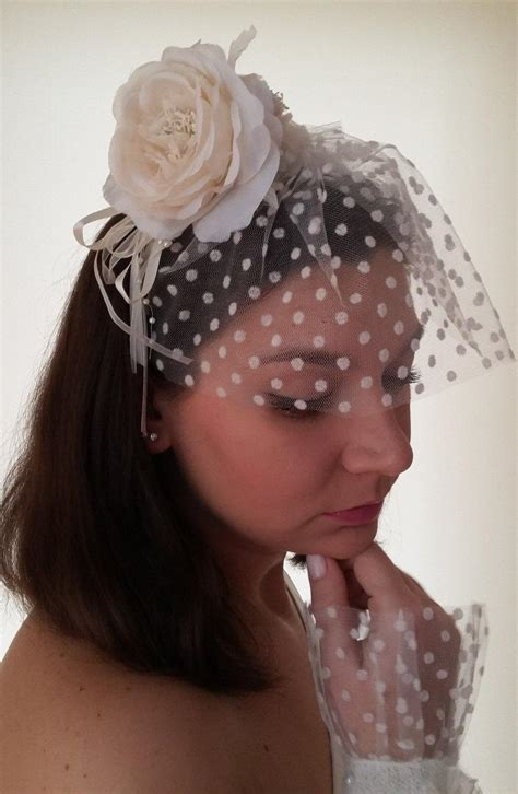 Wedding Hair Accessories Tulle handmade wedding hair accessories bridal veil flower