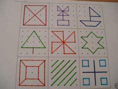 banding pattern en francais geoboard pattern for busy bags preschool homeschool