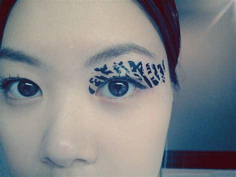 eye tattoo temporary 1 pair eye temporary tattoo fake transfer stickers by cclstore