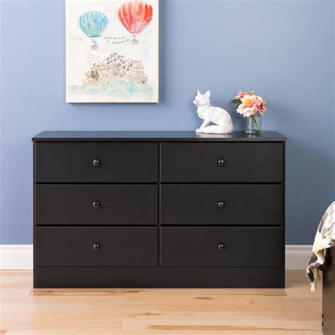 prepac astrid 6 drawer black dresser bdbr 0402 1 the