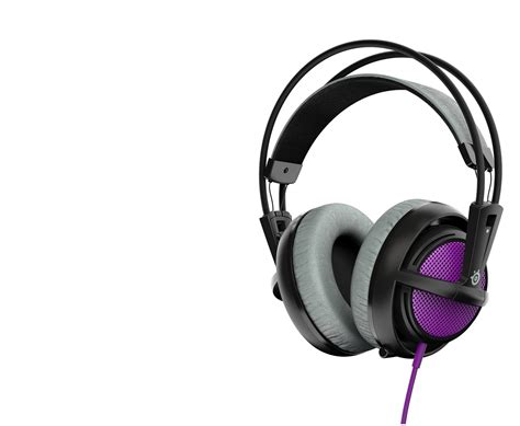Headset Steelseries steelseries siberia 200 gaming headset purple