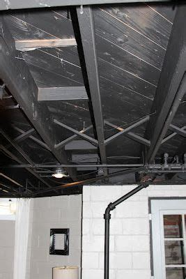 Flat Paint For Ceiling by 17 Best Images About Home Basement Ceiling Ideas On