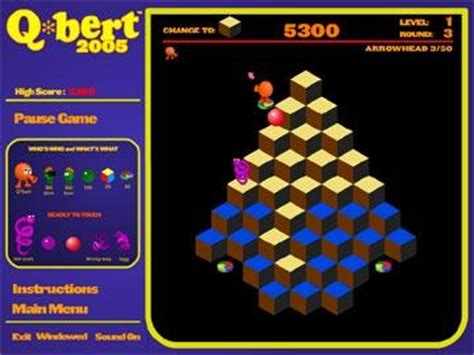 play free q bert packed gameplay