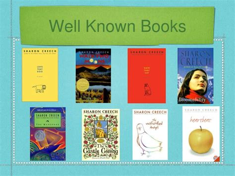 well known picture books ppt creech powerpoint presentation id 5376847