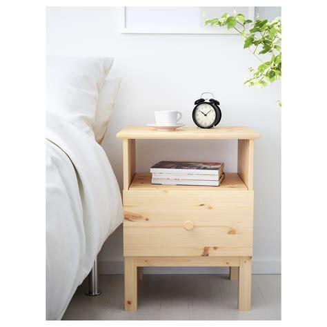 Bedside Desk by Tarva Bedside Table Pine 48 X 62 Cm Ikea