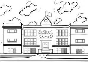 school house color page schoolhouse coloring page az coloring pages