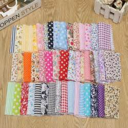 Patchwork Sewing - 50pcs new 10 10cm square fabric bundle patchwork clothing