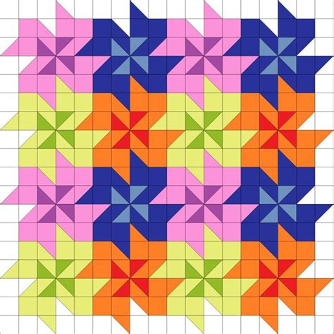 pattern block triangle grid 17 best images about tessalations on pinterest quilt
