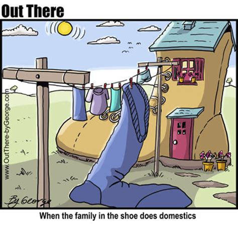 Shoe House By George Media Culture Cartoon Toonpool
