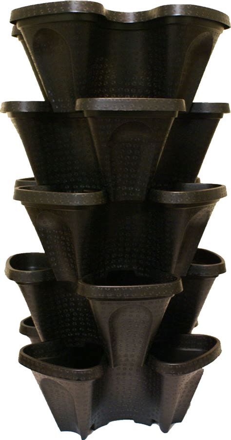 Stackable Planters by Large Diy Vertical Garden Stackable Planters