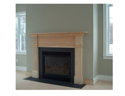 Hand Made Colonial Fireplace Surround by Homecoming